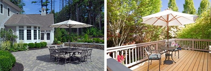 Your deck project can be a customized design that incorporates all the right features and is built to last.